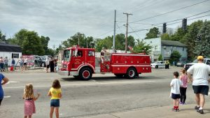 JFD Engine 67 parade