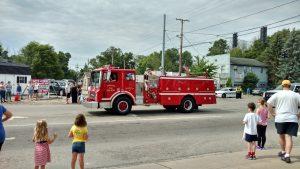 JFD Engine 67 parade